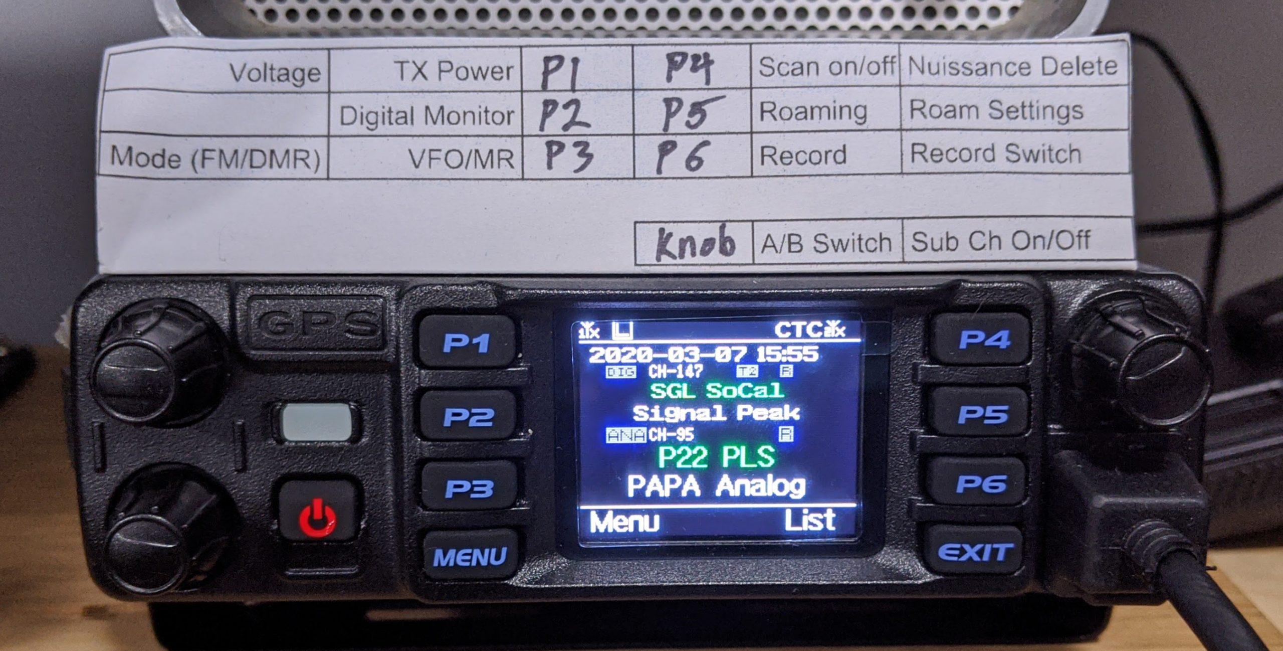 AnyTone over Motorola for DMR?