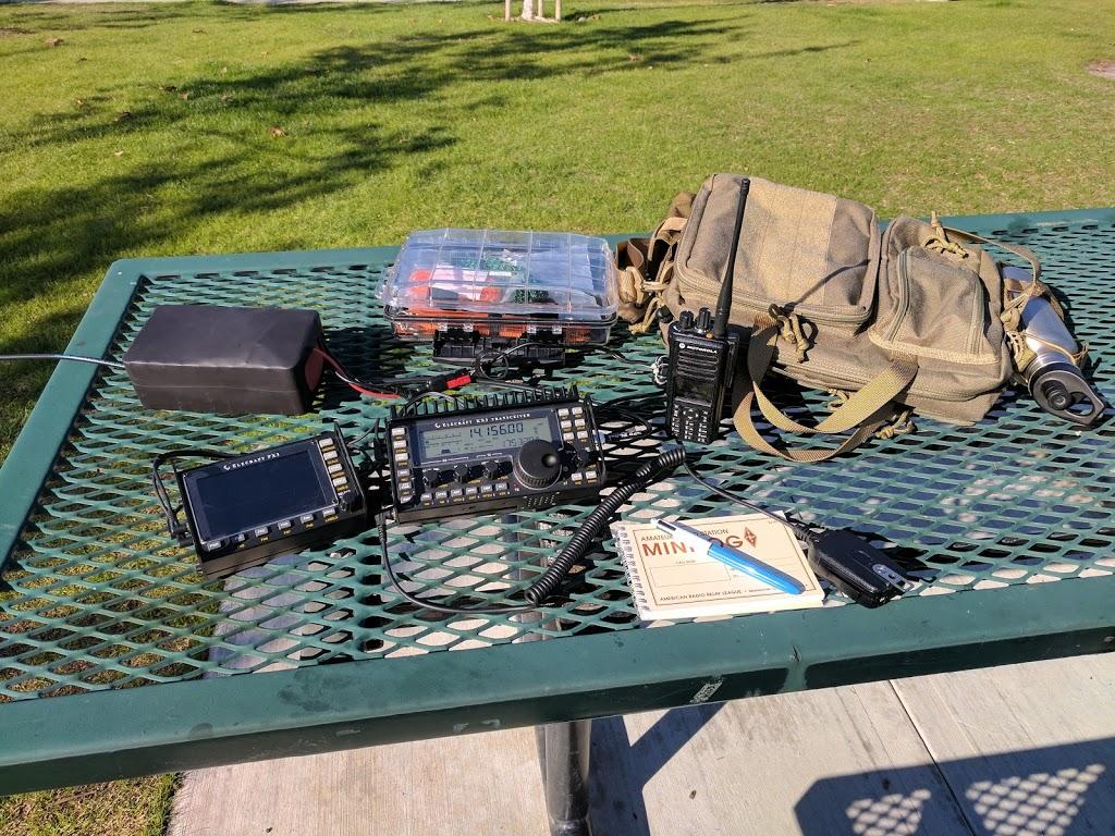 #OptOutside – Getting Sun On My Radio