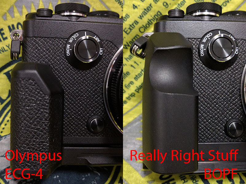RRS Camera Plate for Olympus PEN-F